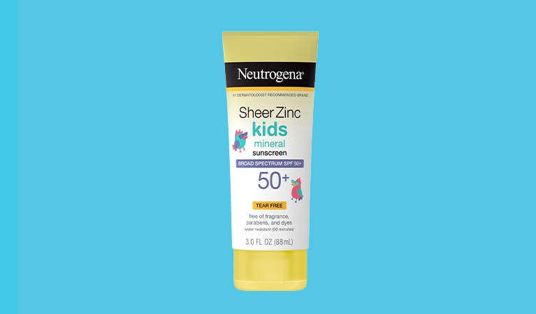 Sheer Zinc Kids Lotion